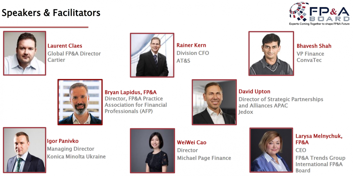 Asia FP&A Board